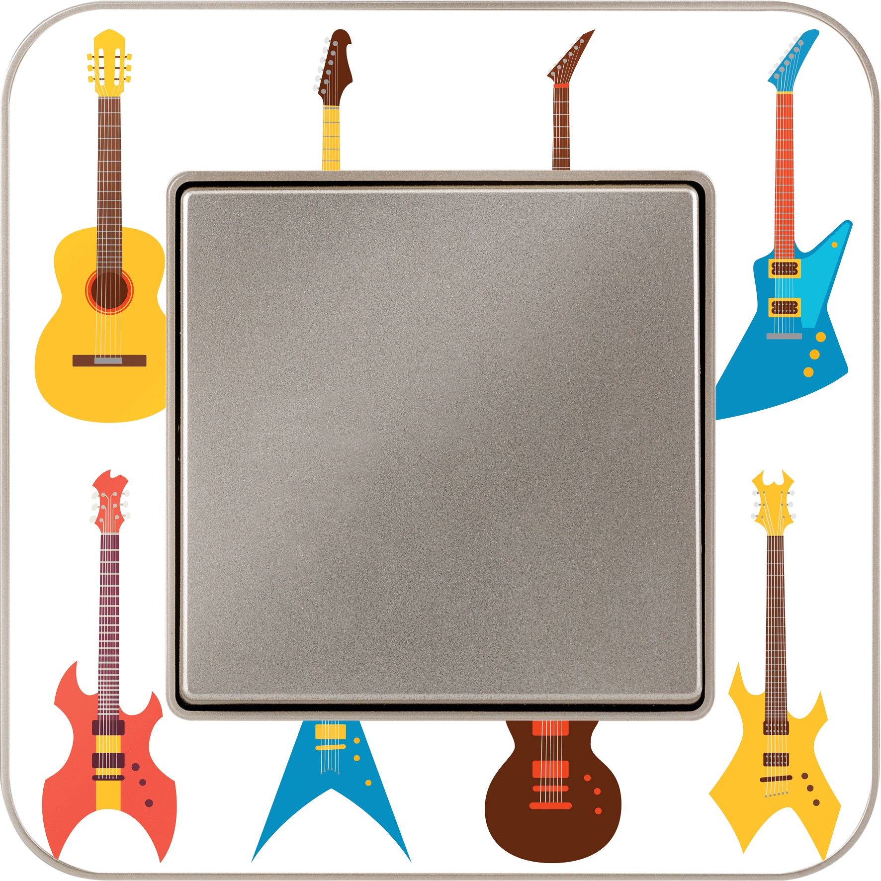 Gunsan Radius Guitar